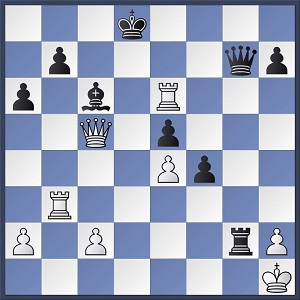 Paschall-Hanke, Black to play and mate in 4